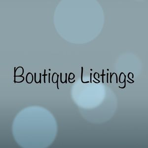 Boutique items